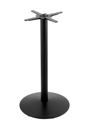 "pub table  base, black winkle, chrome or stainless 29"",35"" or 41"" high"