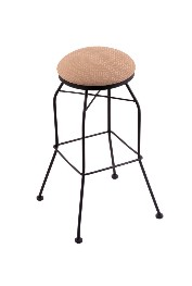 "swivel, black wrinkle only, metal swivel seat bar, counter stool, shown w/AxsSum seat, 25""-30""; footprint: 18x18"""