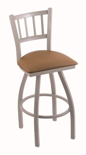"metal swivel seat bar, counter stool with back  in 25, 30 or 36"" tall seat"