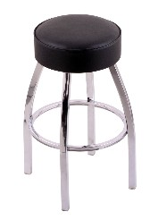 "swivel metal bar, counter stool,  chrome; 25"" or 30"""