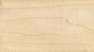 Natural maple finish for bar stools and seats
